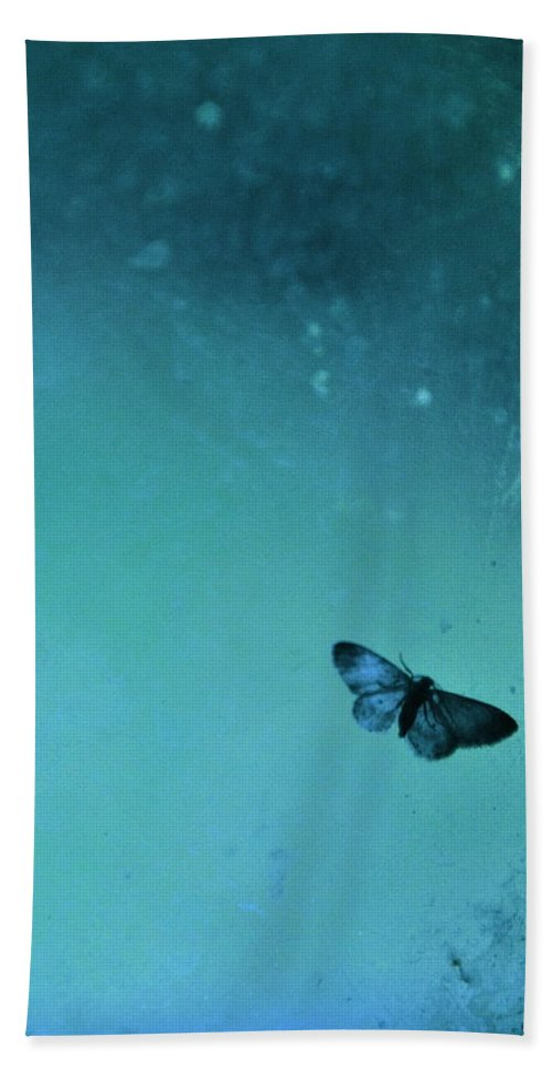 Gypsy Moth Hand Towel featuring the photograph Butterfly II by Valerie Rosen