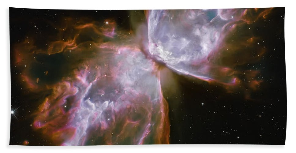 Nebula Bath Sheet featuring the photograph Butterfly Nebula by Jennifer Rondinelli Reilly - Fine Art Photography