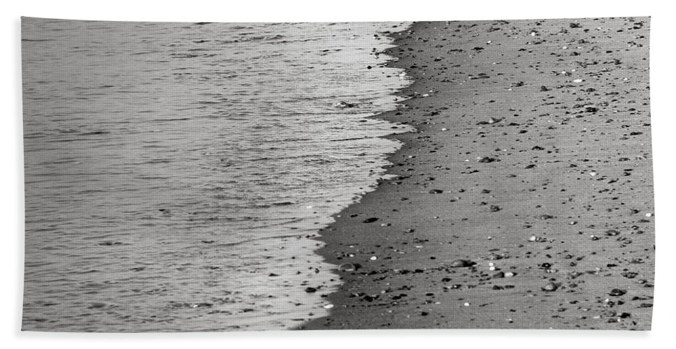 Sand Hand Towel featuring the photograph Bw3 by Charles Harden