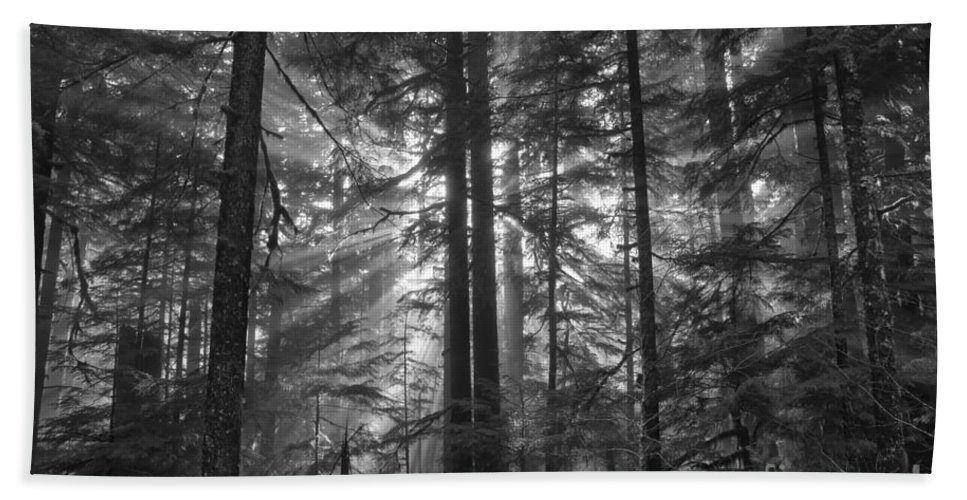 Hand Towel featuring the photograph c by Adam Jewell