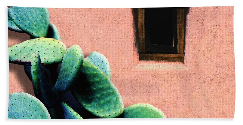 Cactus Hand Towel featuring the photograph Cactus by Paul Wear