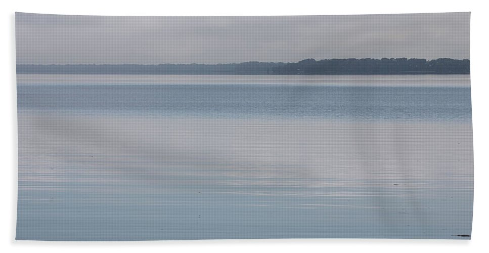 Morning Bath Towel featuring the photograph Calm Lake by Dart and Suze Humeston