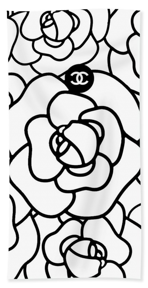 8e970a3d49fd Camellia Cc Hand Towel for Sale by Tres Chic