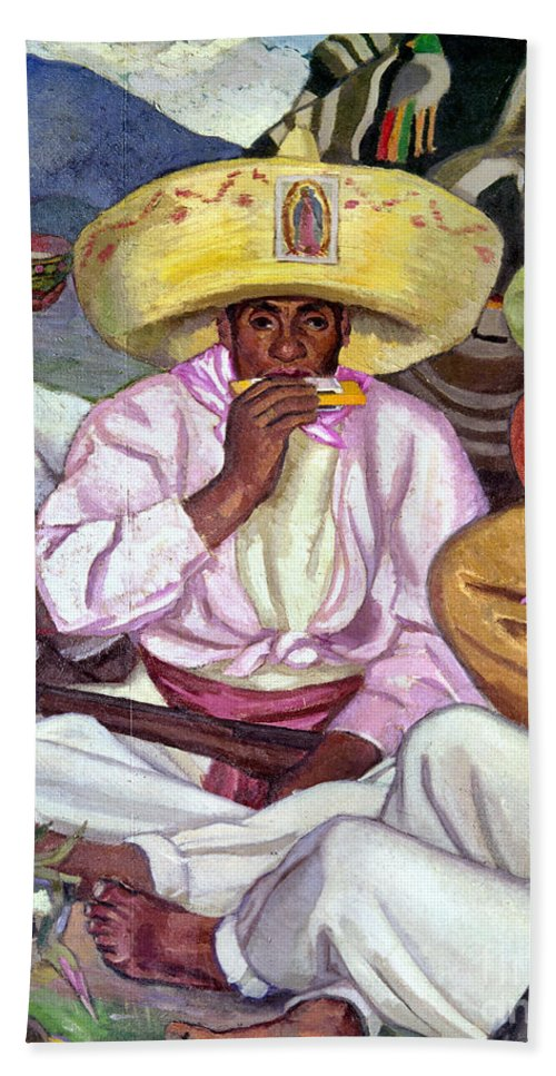 1922 Hand Towel featuring the photograph Camping Zapatistas, 1922 by Granger