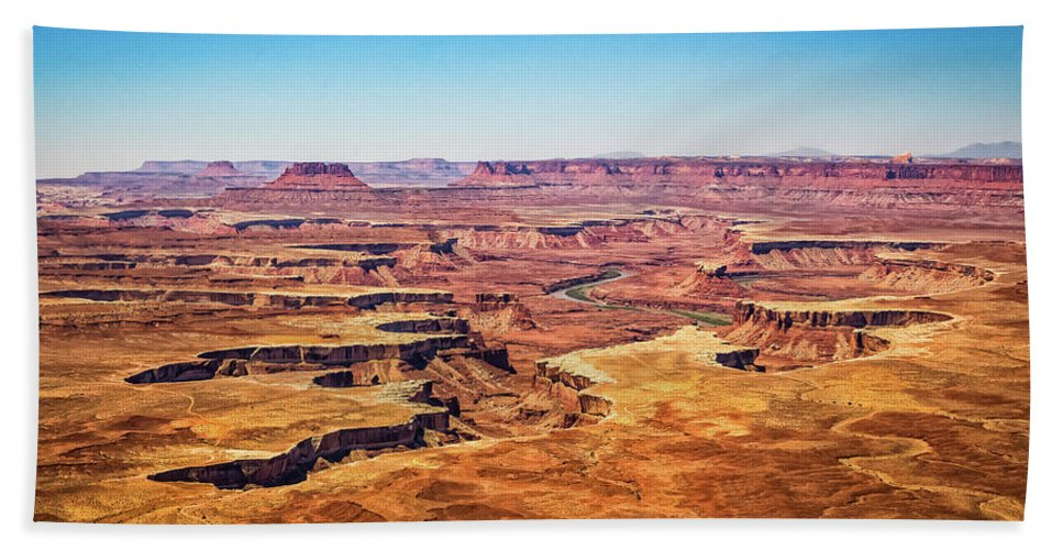 Canyonlands National Park Bath Sheet featuring the photograph Canyonlands National Park by Gestalt Imagery