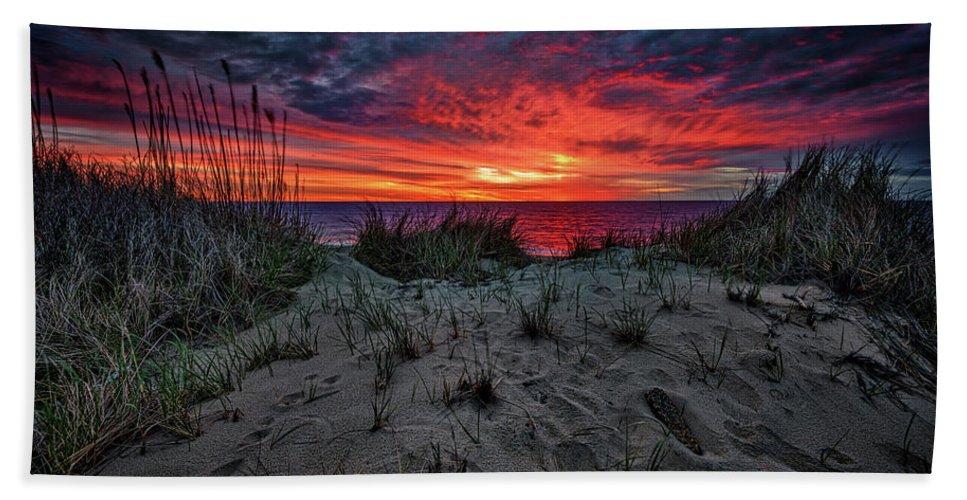 Cape Cod Hand Towel featuring the photograph Cape Cod Sunrise by Rick Berk