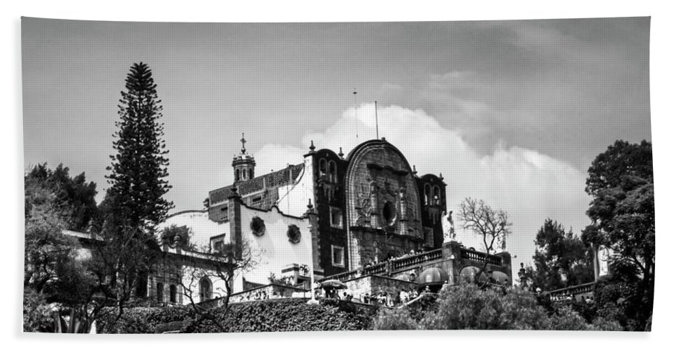 Basilica De Guadalupe Bath Sheet featuring the photograph Capilla Del Cerrito - Basilica De Guadalupe - Mexico City I by Totto Ponce