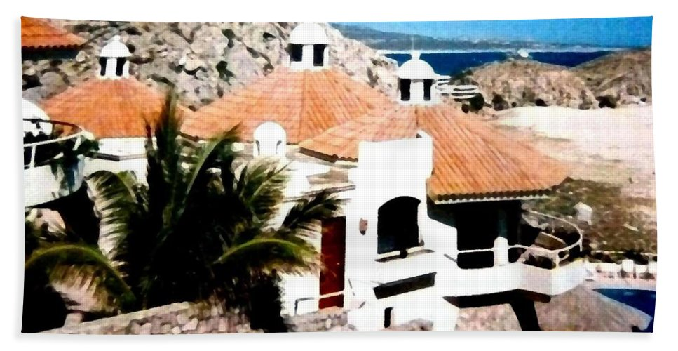 Mexico Hand Towel featuring the photograph Captivating Cabo by Will Borden