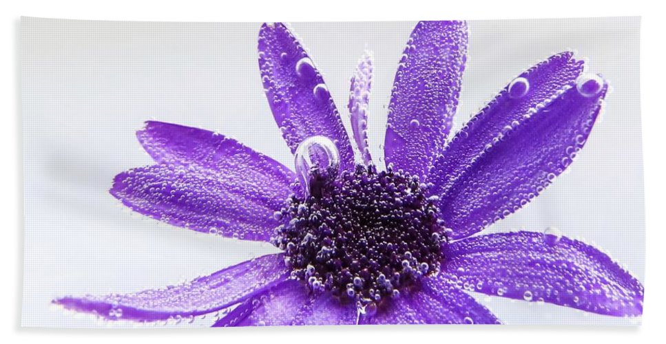 Floral Bath Sheet featuring the photograph Captivating by LeAnne Perry