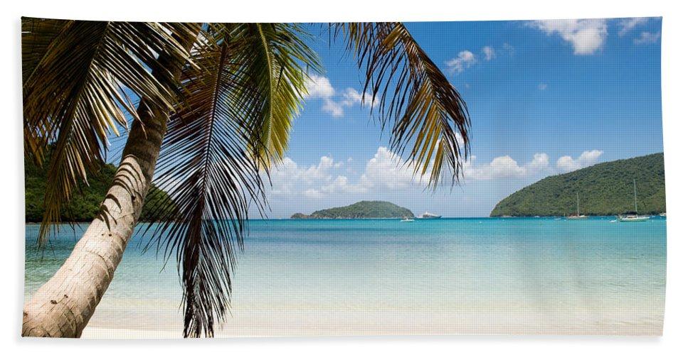 Beach Bath Sheet featuring the photograph Caribbean Afternoon by Greg Wyatt