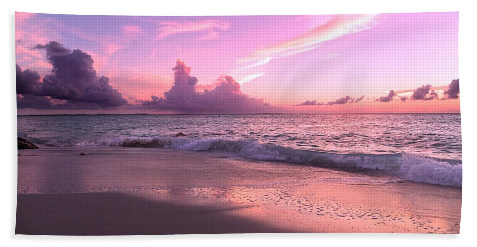 Beach Bath Sheet featuring the photograph Caribbean Tranquility by Betsy Knapp
