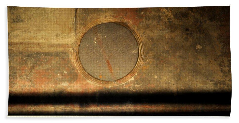 Manhole Bath Sheet featuring the photograph Carlton 15 - Square Circle by Tim Nyberg