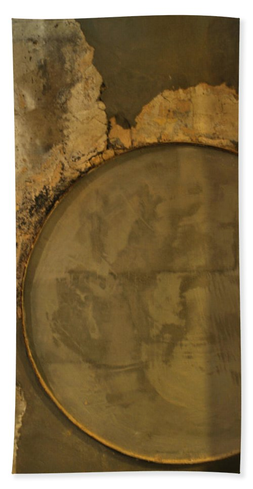 Concrete Bath Sheet featuring the photograph Carlton 3 - Abstract Concrete by Tim Nyberg