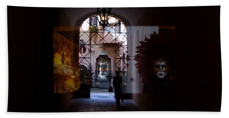 Dream Hand Towel featuring the photograph Carnival by Charles Stuart