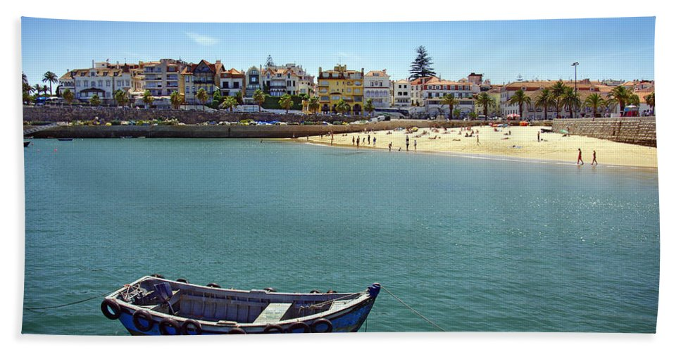 Architecture Bath Sheet featuring the photograph Cascais by Carlos Caetano