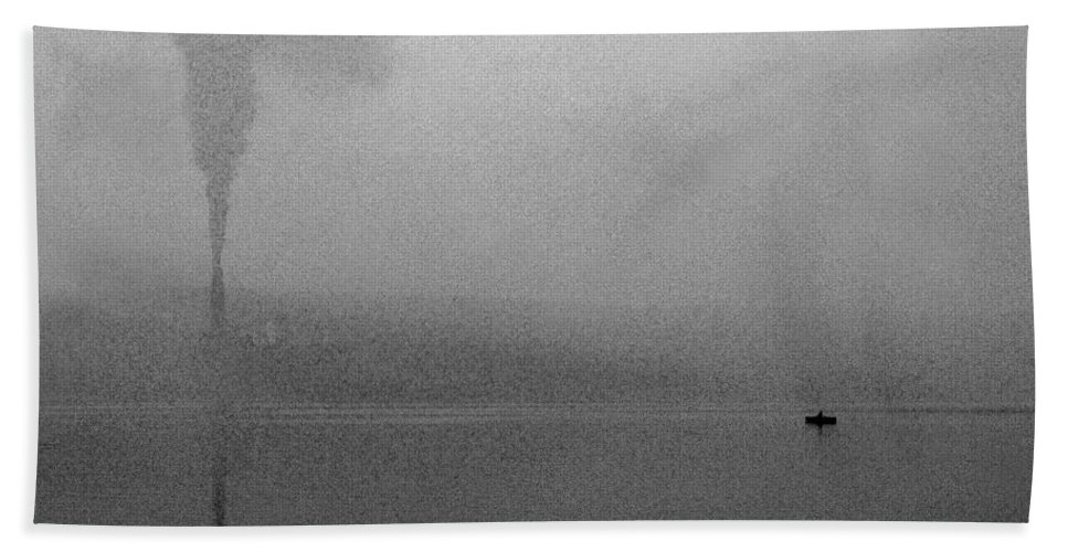 Solitude Hand Towel featuring the photograph Cayuga Solitude by Jean Macaluso