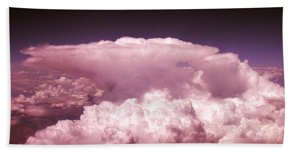 Cloud Photographs Hand Towel featuring the photograph Cb1.1 by Strato ThreeSIXTYFive