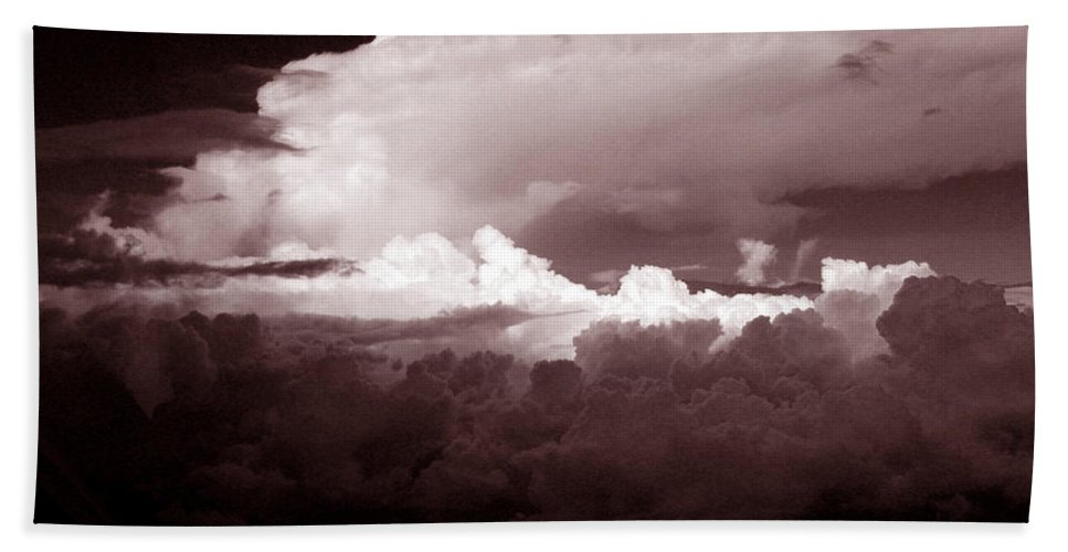Cloud Images Bath Sheet featuring the photograph Cb1.2 by Strato ThreeSIXTYFive
