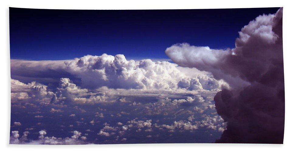 Aviation Art Bath Sheet featuring the photograph Cb2.076 by Strato ThreeSIXTYFive