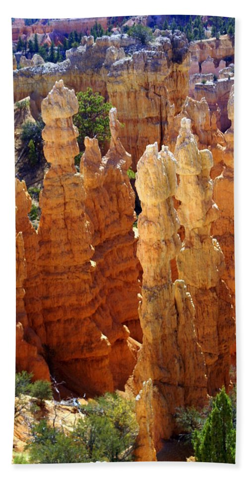 Cedar Breaks Hand Towel featuring the photograph Cedar Breaks 1 by Marty Koch