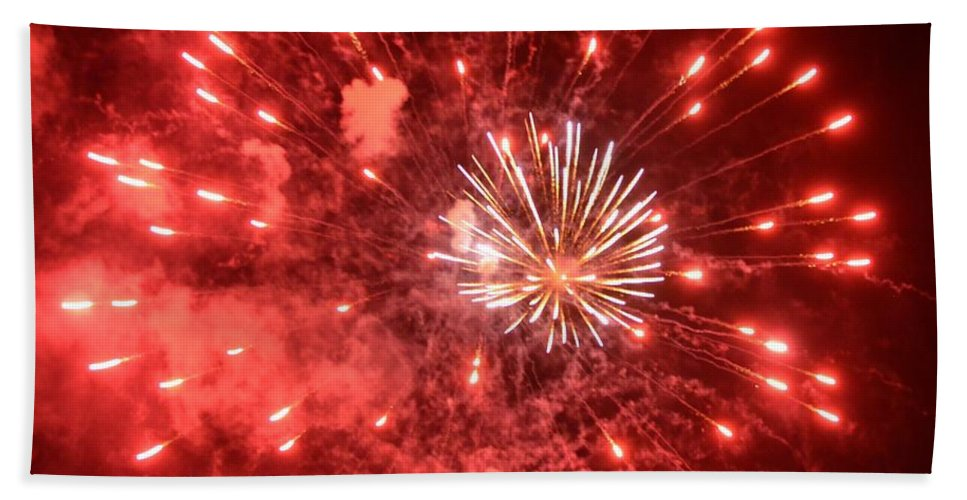 Celebration Bath Sheet featuring the photograph Celebration by Michael Keough