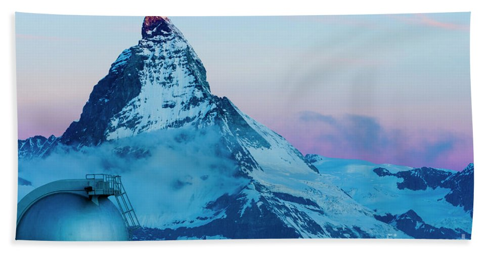 3100m Hand Towel featuring the photograph Cervain by Louis-Martin Carriere