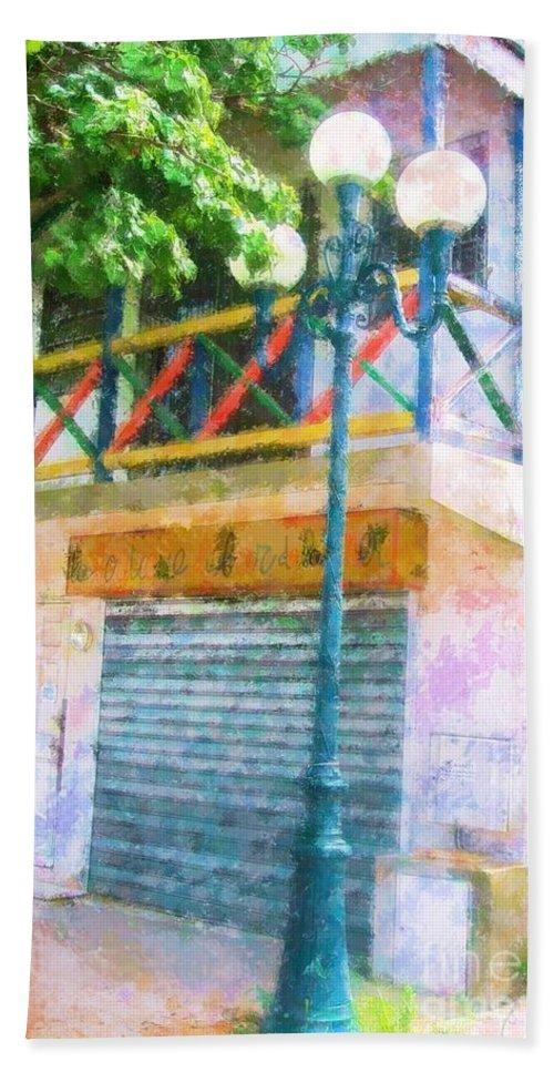 St. Martin Hand Towel featuring the photograph Cest La Vie by Debbi Granruth