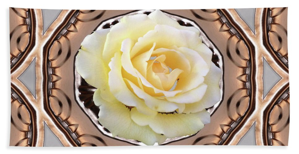 Chantilly Lace Bath Sheet featuring the photograph Chantilly Lace by Wanda-Lynn Searles