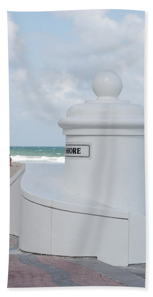 Shore Hand Towel featuring the photograph Chess Pawn Shore by Rob Hans