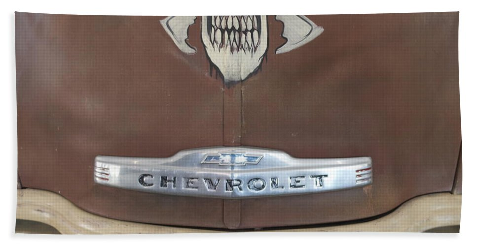 Chevy Truck Bath Sheet featuring the photograph Chevy Truck by Pamela Walrath