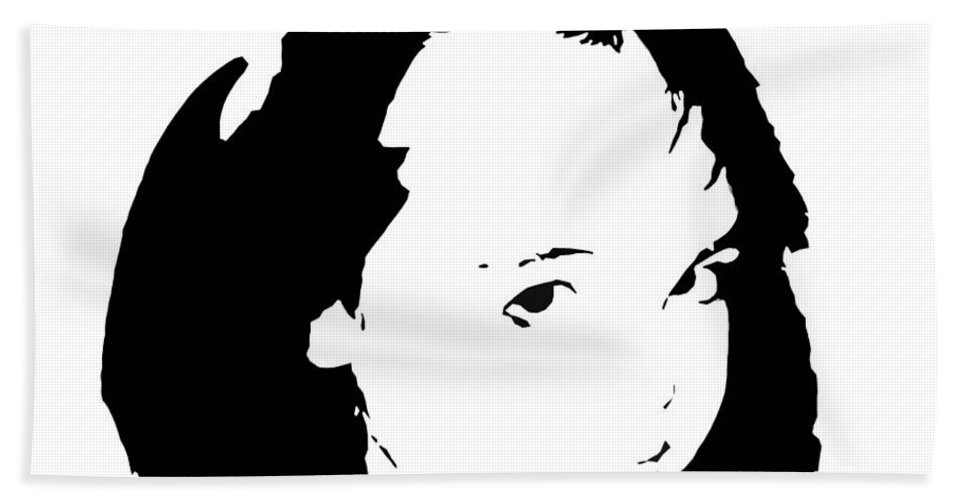 Child Hand Towel featuring the digital art Child by Christopher Rowlands