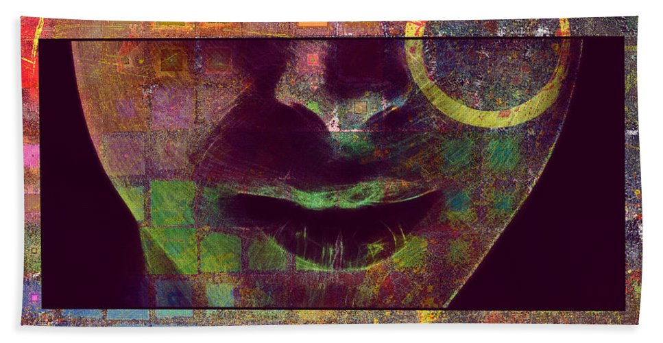 Face Bath Sheet featuring the digital art Child Of The Universe 2 by Art Dreams
