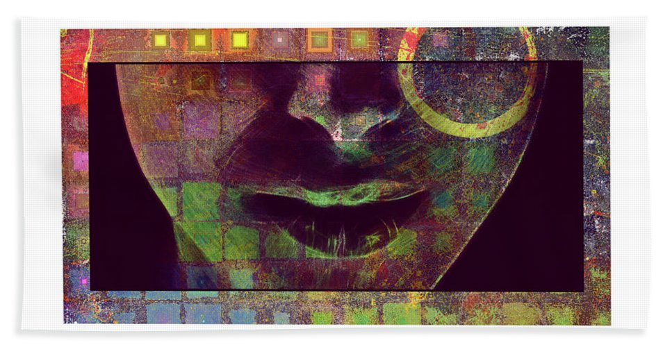 Face Bath Sheet featuring the digital art Child Of The Universe by Art Dreams