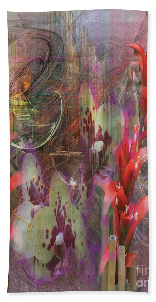 Chosen Ones Hand Towel featuring the digital art Chosen Ones by John Beck