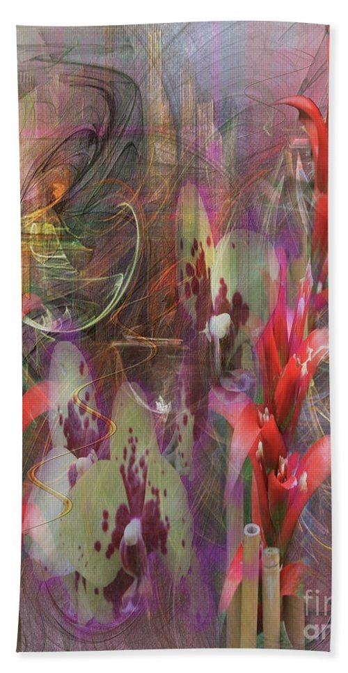 Chosen Ones Bath Sheet featuring the digital art Chosen Ones by John Beck