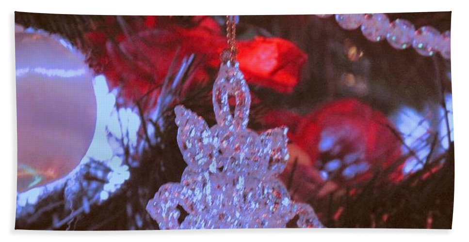 Christmas Hand Towel featuring the photograph Christmas Composition by Ian MacDonald