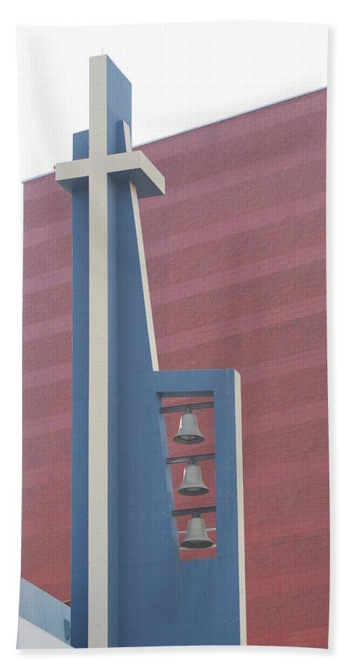 Bells Bath Towel featuring the photograph Church Bells by Rob Hans