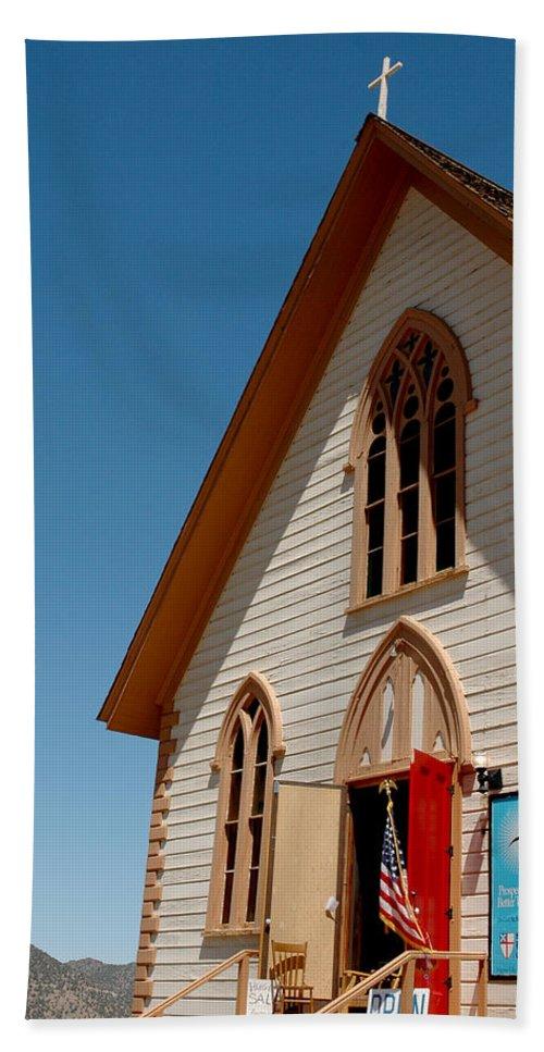 Usa Bath Sheet featuring the photograph Church Prayers St Pauls by LeeAnn McLaneGoetz McLaneGoetzStudioLLCcom