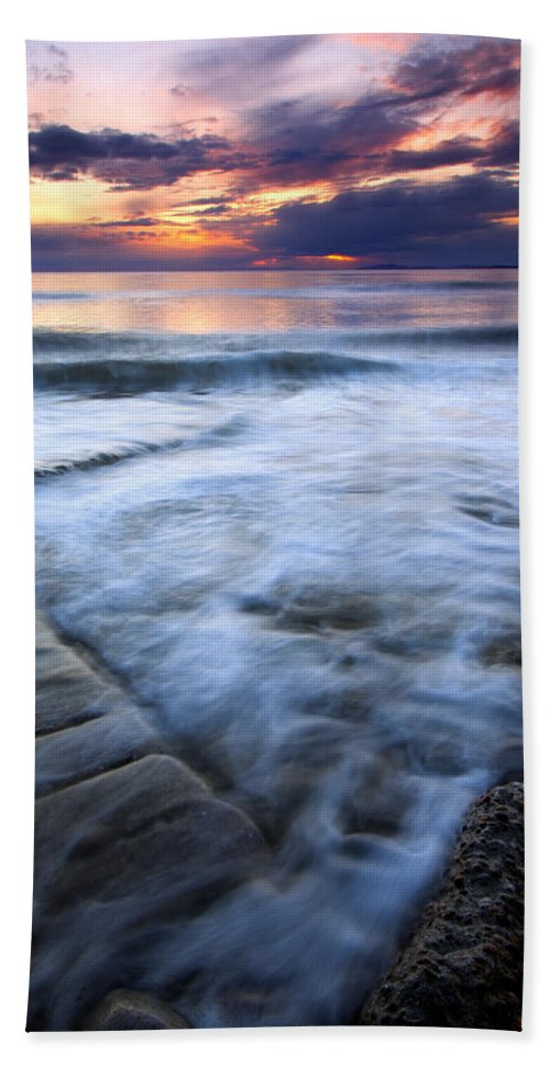 Tides Bath Sheet featuring the photograph Civilization Forgotten by Mike Dawson