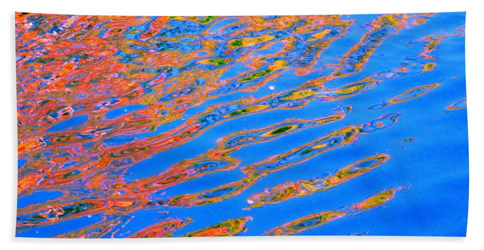 Color Bath Sheet featuring the photograph Claim by Sybil Staples