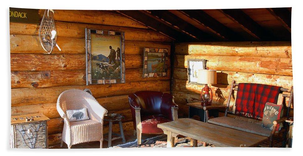 Adirondack Bath Sheet featuring the photograph Classic Adirondack by David Lee Thompson