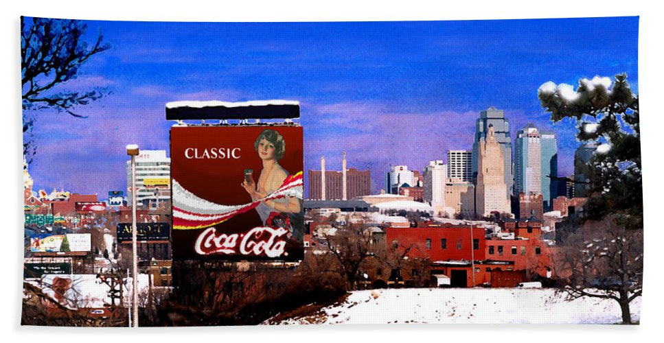 Landscape Bath Towel featuring the photograph Classic by Steve Karol