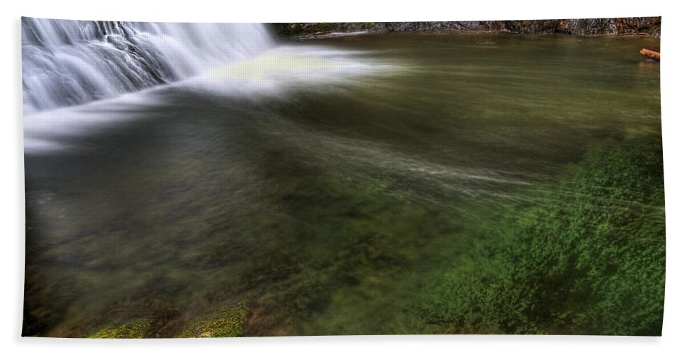 America; Aqua Hand Towel featuring the photograph Clear Waters by Svetlana Sewell