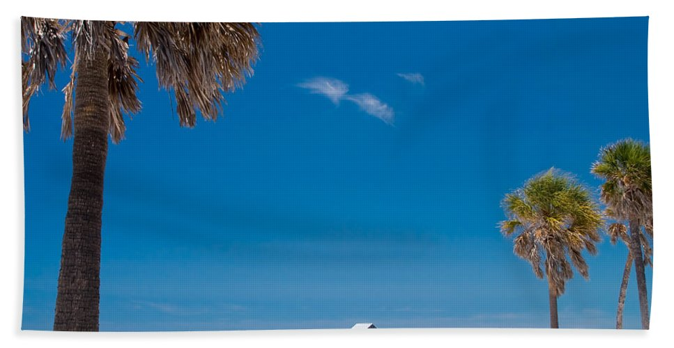 3scape Hand Towel featuring the photograph Clearwater Beach by Adam Romanowicz