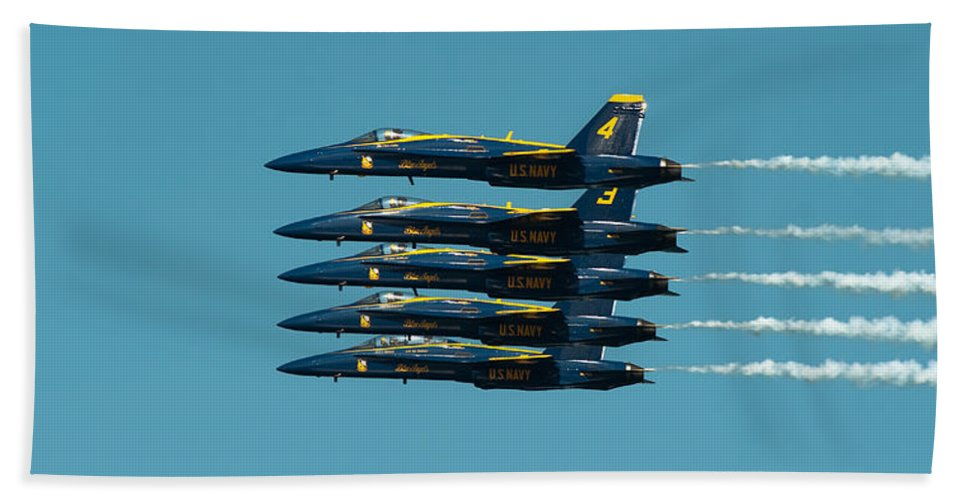Us Navy Bath Sheet featuring the photograph Cloning by Sebastian Musial