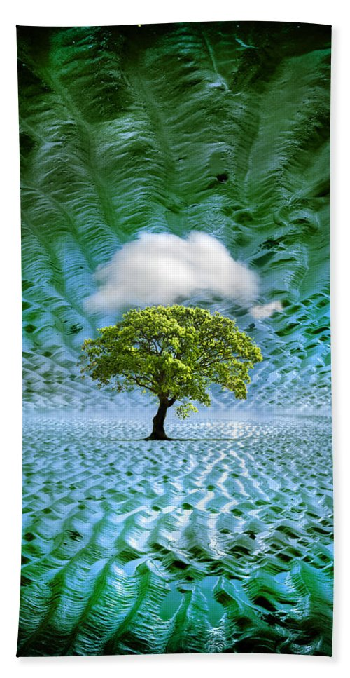 Cloud Hand Towel featuring the photograph Cloud Cover Recurring by Mal Bray