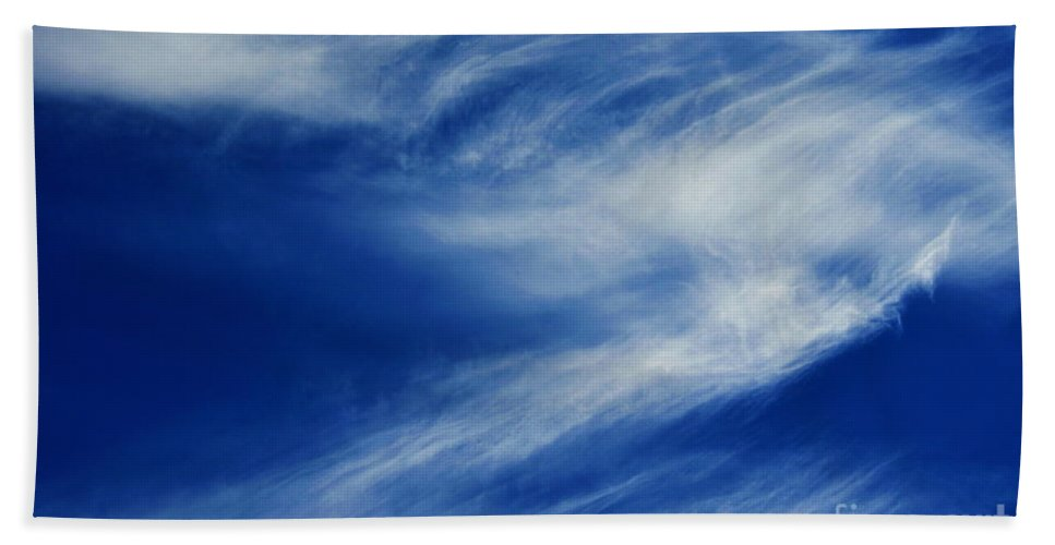Clay Bath Towel featuring the photograph Cloud Formations by Clayton Bruster