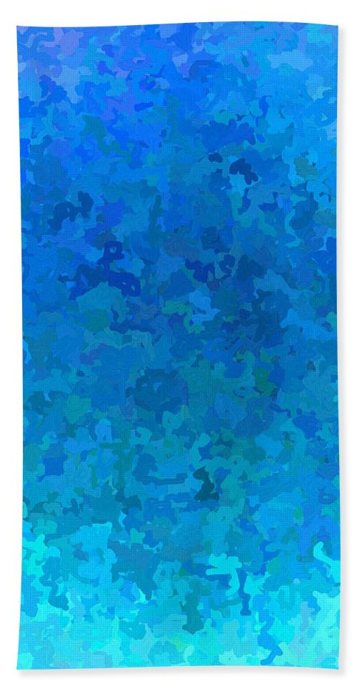 Cloud Hand Towel featuring the digital art Clouded Thoughts Of You by April Patterson