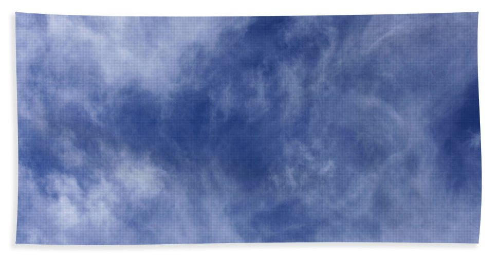 Cloud.sky Hand Towel featuring the photograph Clouds 4 by Teresa Mucha