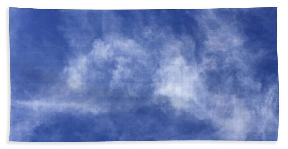 Cloud.sky Hand Towel featuring the photograph Clouds 6 by Teresa Mucha